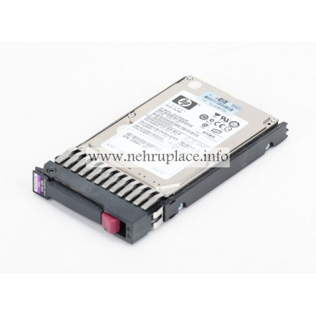 "432320-001 HP 146GB, 10K, SAS 3G, SinglePort, Hot-plug SAS 2.5"" hard drive"