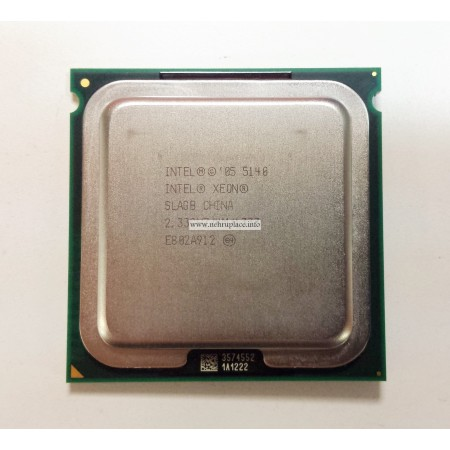 416797-001 Intel® Xeon® 5140 2.33-GHz dual-core processor 2×2-MB L2 cache, 1333-MHz FSB
