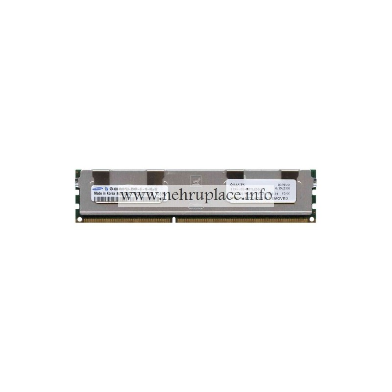 M393B5173DZD-CF8 DIMM, 4G, 1066, PC3-8500R, 4RX8X72, 8, 240p, CL7, 1.5v, Regulatory(Quad Rank)
